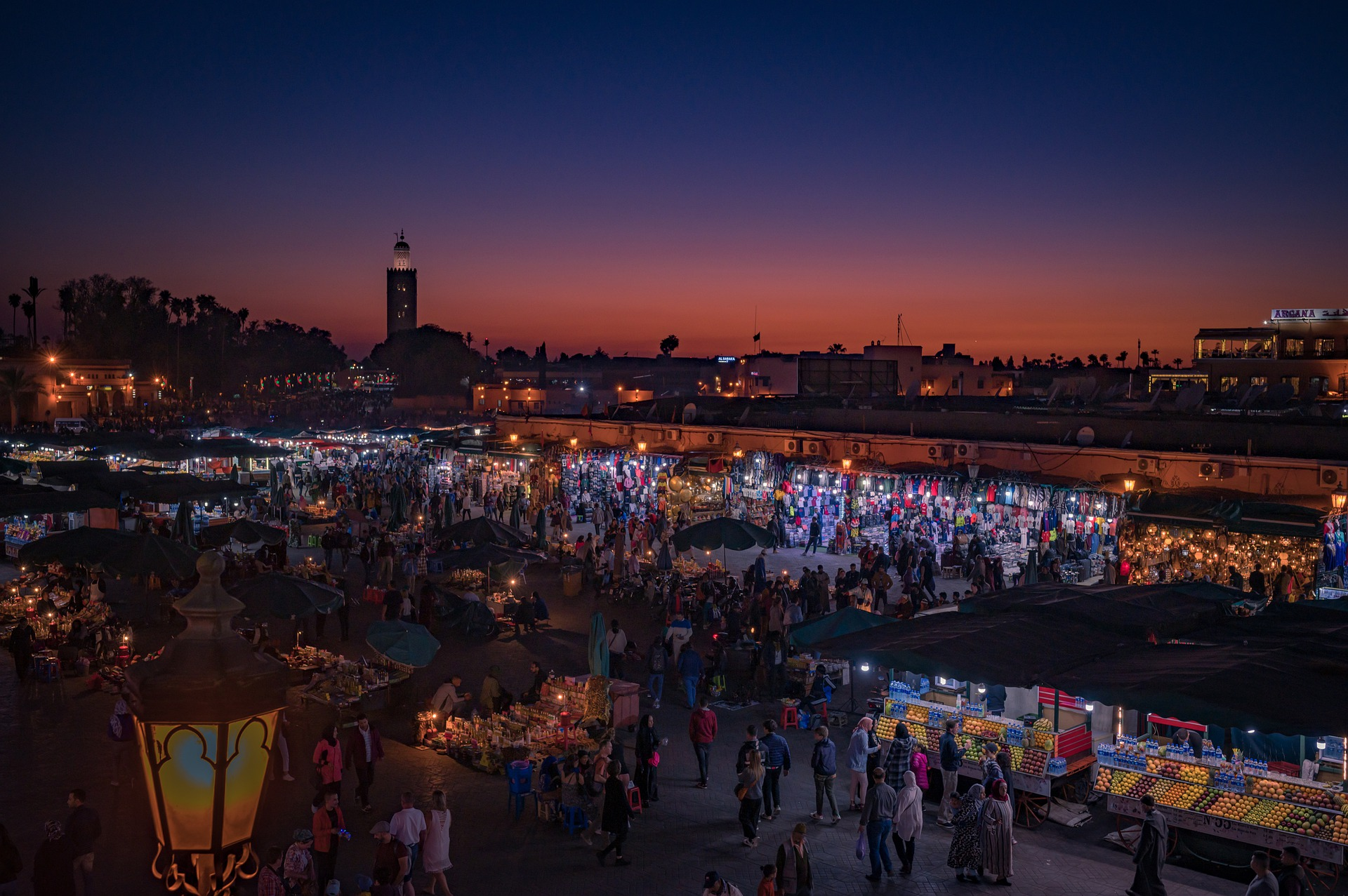 Djemma Al Fna Marrakech